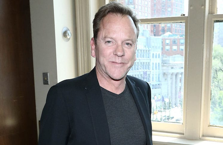 """Kiefer Sutherland """"Down in a Hole"""" Album Signing at Barnes & Noble in New York on August 13, 2016 - 2"""