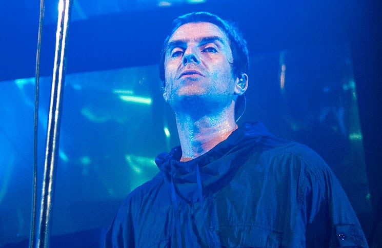 Liam Gallagher Underplay Tour in Concert at the O2 Ritz Manchester - May 30, 2017 - 2