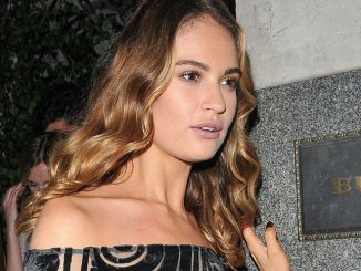 """Lily James - """"My Burberry Black"""" Launch Event"""
