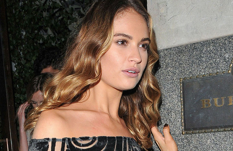 "Lily James - ""My Burberry Black"" Launch Event"