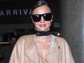 Miranda Kerr Sighted at LAX Airport on October 5, 2016