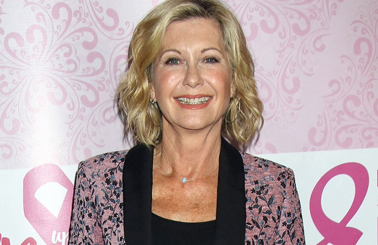 "Olivia Newton-John Hosts ""Turn up the Pink Against Breast Cancer"" Event to Benefit Making Strides in Las Vegas on October 23, 2016"