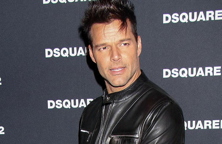 Ricky Martin - Dsquared2 Flagship Store Grand Opening Party in Las Vegas