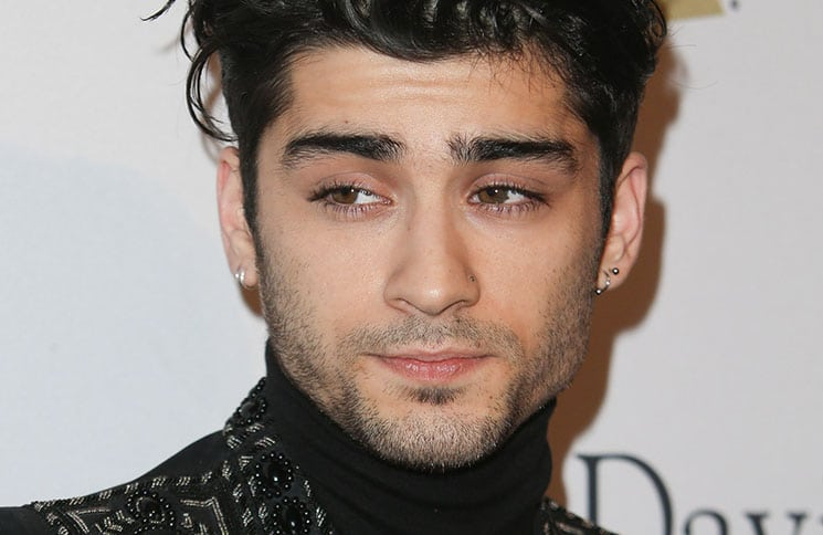 Zayn Malik - 59th Annual Grammy Awards - 2