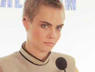 "Cara Delevingne - ""Valerian and the City of a Thousand Planets"" Los Angeles Press Conference"
