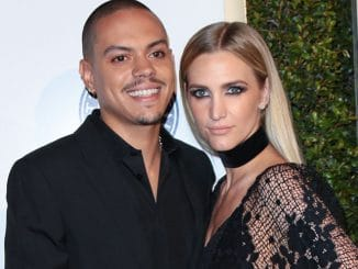 Evan Ross and Ashlee Simpson - The Art of Elysium