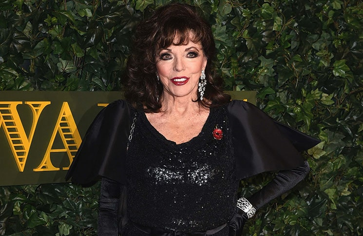 Joan Collins - 62nd Annual London Evening Standard Theatre Awards