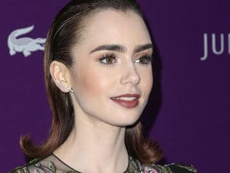 Lily Collins - 19th Annual Costume Designers Guild Awards
