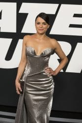 """Michelle Rodriguez - """"The Fate of the Furious"""" New York City Premiere"""