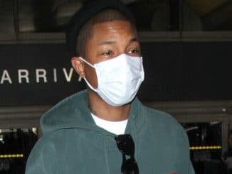 Pharrell Williams Sighted at LAX Airport on March 8, 2017