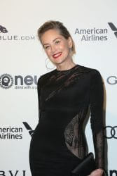 Sharon Stone - 25th Annual Elton John AIDS Foundation's Academy Awards Viewing Party