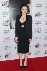 "Anna Paquin - AFI FEST 2015 Presented By Audi Centerpiece Gala Premiere Of Columbia Pictures' ""Concussion"" - Arrivals"