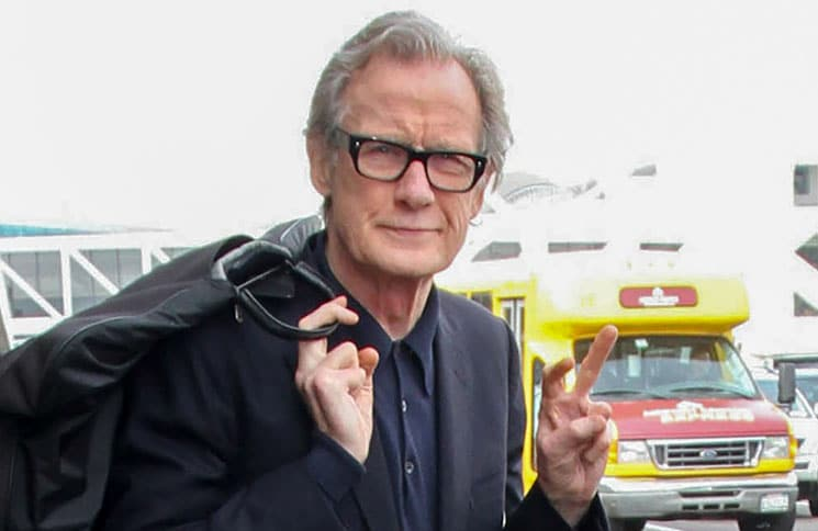 Bill Nighy Sighted at LAX Airport on February 15, 2017