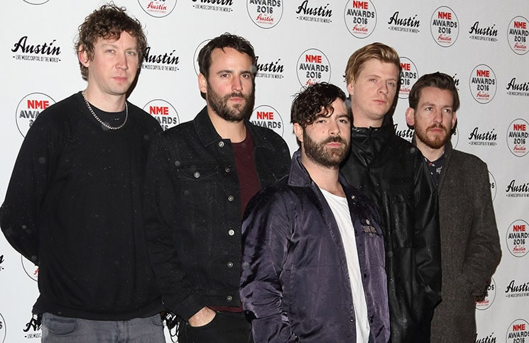 Foals - NME Awards 2016 - Arrivals