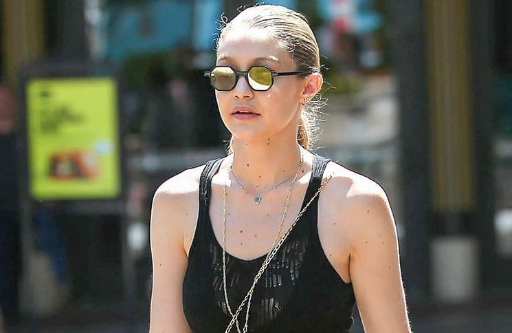 Gigi Hadid Sighted in Los Angeles on July 11, 2017