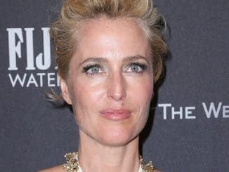 Gillian Anderson - Weinstein Company and Netflix 74th Annual Golden Globes After Party