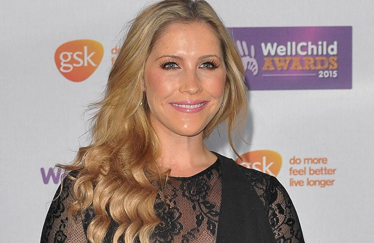Heidi Range - WellChild Awards 2015