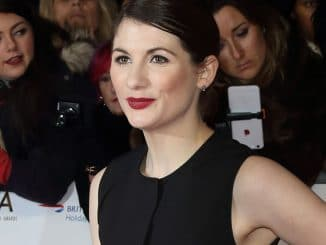 Jodie Whittaker - National Television Awards 2016
