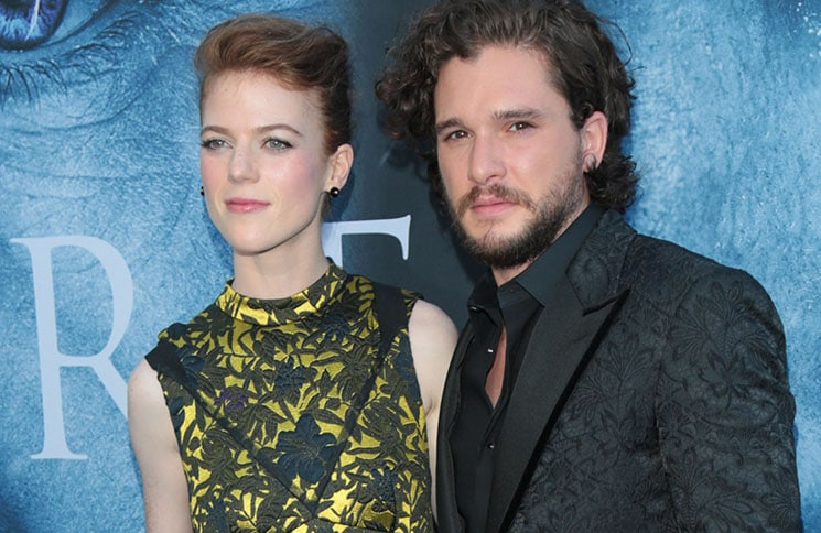 "Kit Harington and Rose Leslie - HBO's ""Game of Thrones"" Season 7 Los Angeles Premiere"