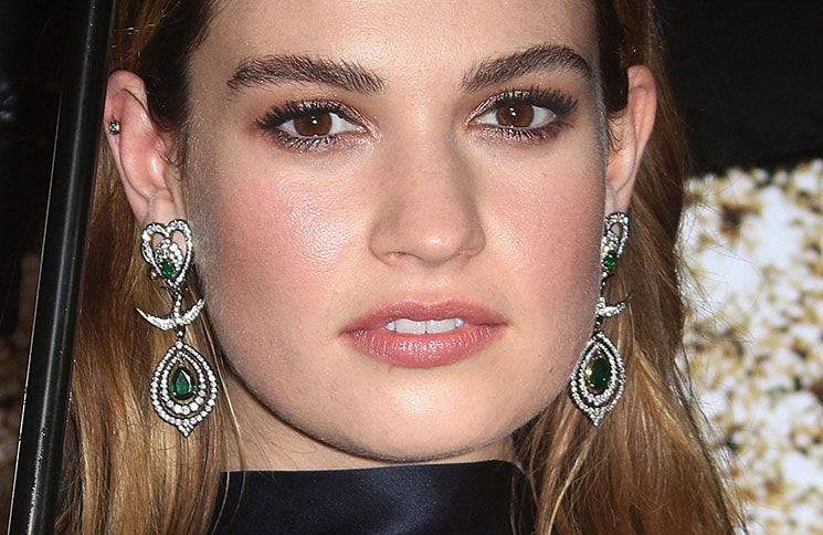 Lily James - 60th Annual BFI London Film Festival