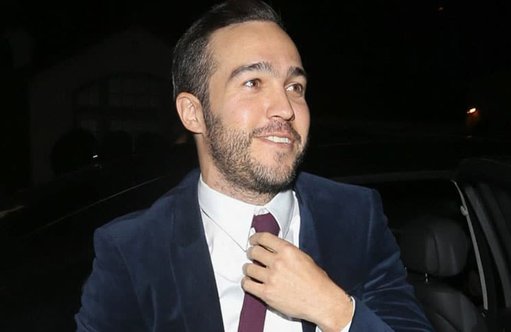 Pete Wentz Sighted in Los Angeles on February 11, 2017
