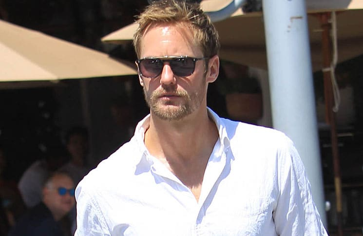 Alexander Skarsgard Sighted in Beverly Hills on September 5, 2017