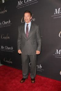"Arnold Schwarzenegger - ""Mr. Church"" Los Angeles Premiere - 2"