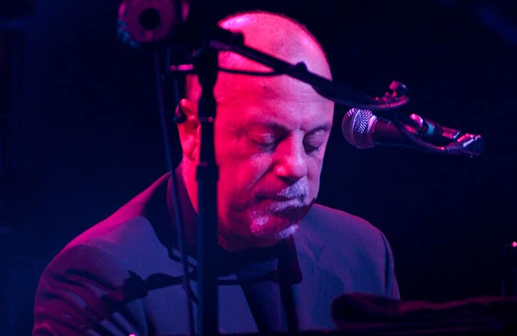 Billy Joel during one of his sold out shows at Seminole Hard Rock Live, Hollywood, Florida