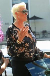Brigitte Nielsen Sighted in Beverly Hills on September 12, 2017
