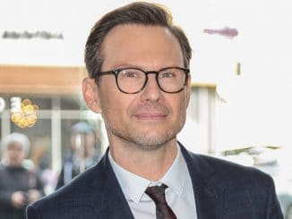 Christian Slater - Life is Good at Gold Meets Golden Event Arrivals at Equinox in Los Angeles