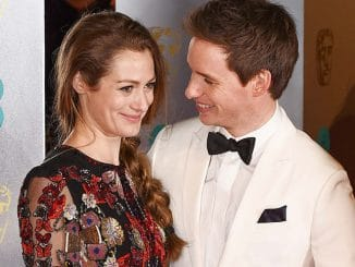 Hannah Bagshawe and Eddie Redmayne - EE British Academy Film Awards 2017 - 2