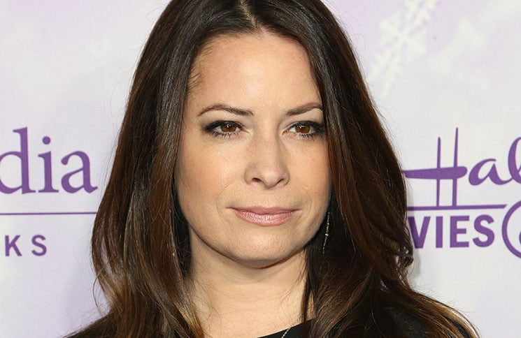 Holly Marie Combs - Hallmark Channel and Hallmark Movies and Mysteries Winter 2016 TCA Press Tour