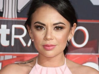 Janel Parrish - 2017 iHeartRadio Music Awards