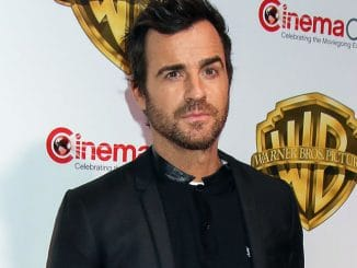 Justin Theroux - CinemaCon 2017 - Warner Bros. Pictures Presentation