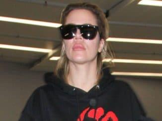 Khloe Kardashian Sighted at LAX Airport on January 5, 2017
