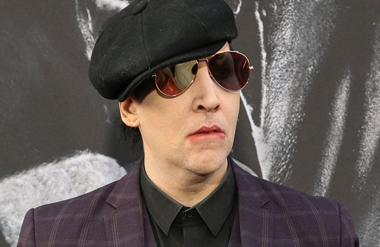 "Marilyn Manson - ""King Arthur: Legend of the Sword"" Los Angeles Premiere - 2"