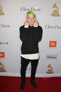 Mike Posner - 59th Annual Grammy Awards