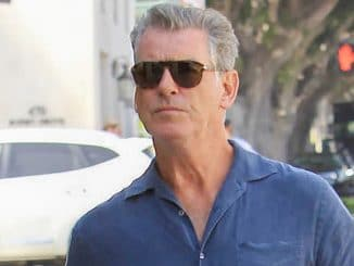 Pierce Brosnan Sighted in Beverly Hills on September 7, 2017