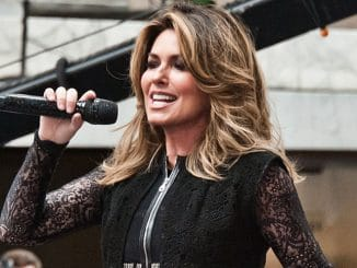 "Shania Twain in Concert on NBC's ""Today"" Show at Rockefeller Plaza in New York City"