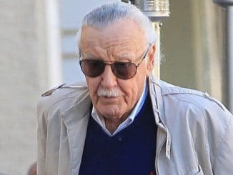 Stan Lee Sighted in Los Angeles on March 7, 2017