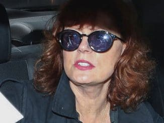 Susan Sarandon Sighted at LAX Airport on August 9, 2017