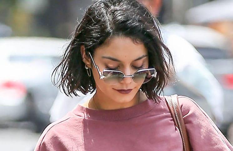 Vanessa Hudgens Sighted in Los Angeles on May 17, 2017