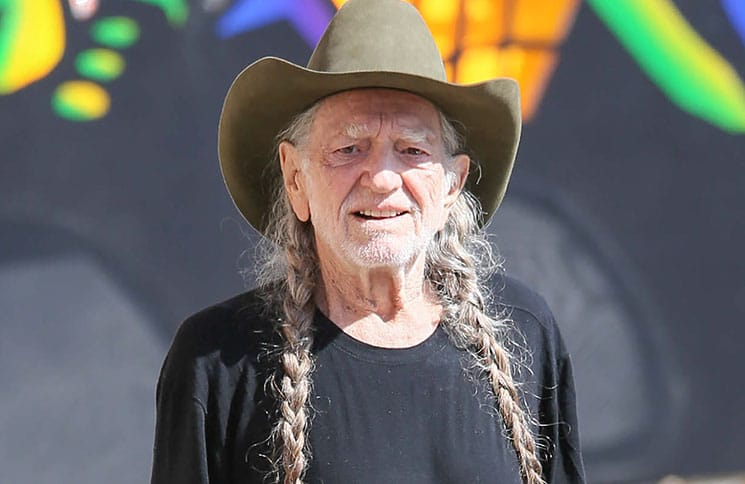 "Willie Nelson Sighted at ""Jimmy Kimmel Live!"" on October 17, 2016"