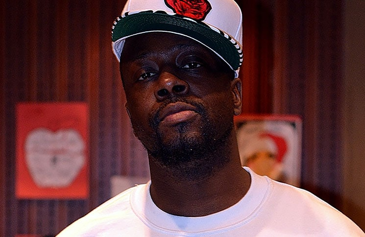 """Wyclef Jean """"April Showers"""" Mixtape Recording Session in New York City on March 19, 2013"""
