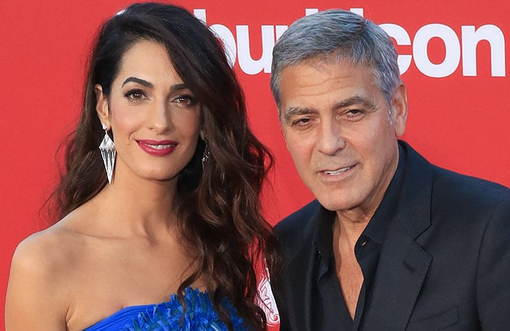 "Amal Clooney and George Clooney - ""Suburbicon"" Los Angeles Premiere"