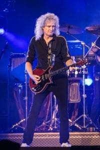 Brian May - Queen in Concert at Barclaycard Arena in Birmingham