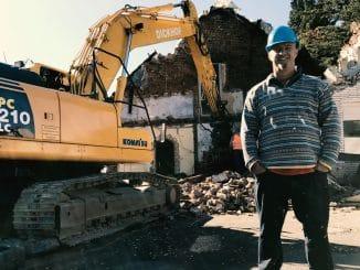 Detlef Steves baut ein Haus - Abriss