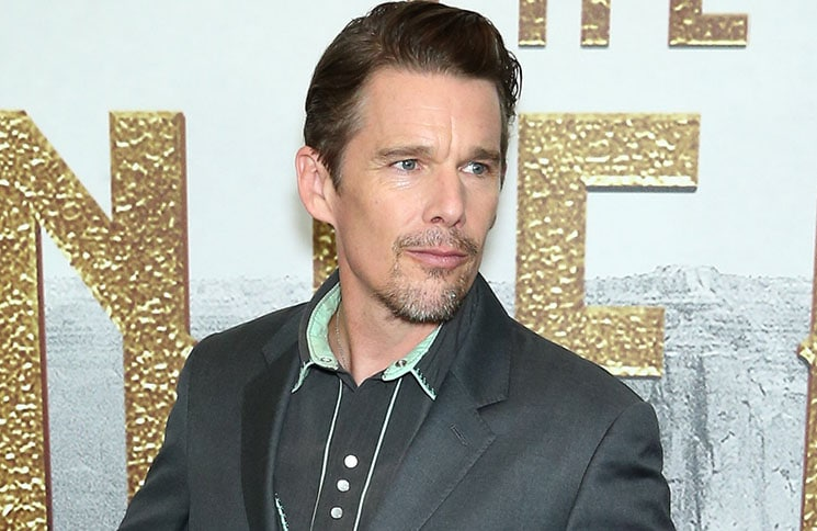"Ethan Hawke - ""The Magnificent Seven"" New York City Premiere"