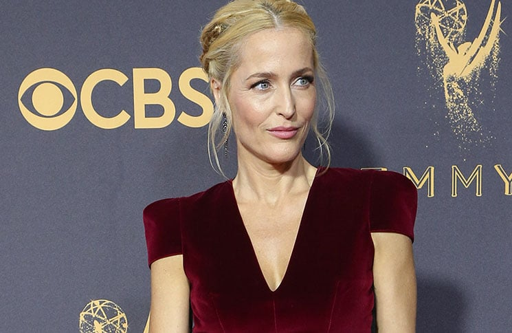 Gillian Anderson - 69th Annual Primetime Emmy Awards