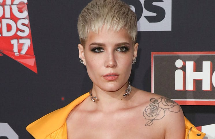 Halsey - 2017 iHeartRadio Music Awards - 2